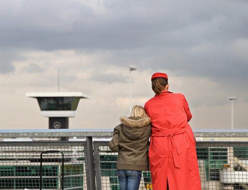Afscheid op Schiphol