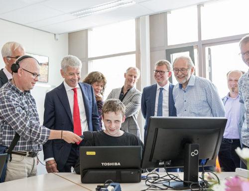 Werkbezoek minister Plasterk